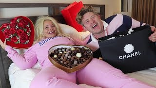 Download SAYING 'YES' TO MY GIRLFRIEND FOR 24 HOURS CHALLENGE (I BOUGHT HER CHANEL!) Video
