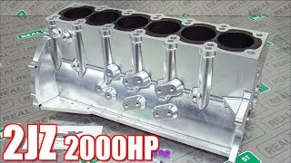 Download 2000HP Supra Billet 2JZ Engine Build - Bulletproof 2JZ for Streetable Supra! Video
