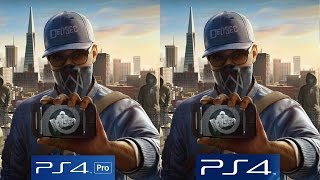 Download [4K/60FPS] Watch Dogs 2: PS4 vs PS4 Pro 4K vs PS4 Pro 1080p Video