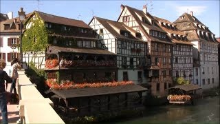 Download Strasbourg France • Strasbourg Tour Including its Gothic Cathedral   European Waterways Video