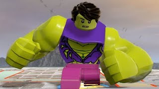 Download LEGO Marvel Super Heroes 2 - Bruce Banner Transformation Into Hulk - Free Roam Gameplay HD Video