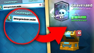 Download OMG! SECRET CODE TO GET FREE LEGENDARY CARDS IN CLASH ROYALE!! NEW CODE FOR LEGENDARY! DOES IT WORK? Video