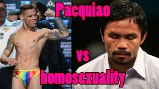 Download ″Gays are More Stupid than Animals″ say Manny Pacquiao & the Philippines Reacts Video