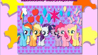 Download My Little Pony Puzzle Games Video