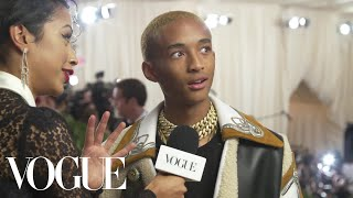 Download Jaden Smith on His Cozy Look for the Met Gala | Met Gala 2018 With Liza Koshy | Vogue Video