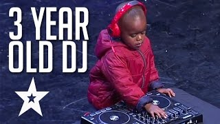 Download 3 Year Old DJ Has The Crowd On Their Feet | Got Talent Global Video