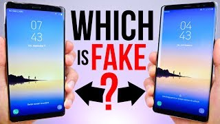 Download $90 Fake Samsung Galaxy Note 8 vs $929 Note 8! Video