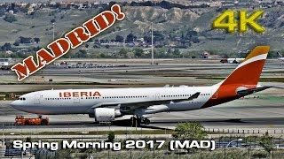 Download Spring Morning at Madrid Barajas Airport (2017)[4K] Video