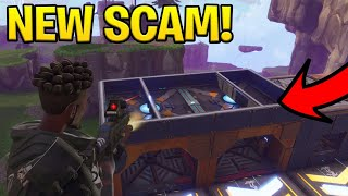 Download *NEW SCAM* The Invisible Ceiling Trap Scam! (Scammer Gets Scammed) Fortnite Save The World Video