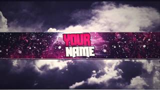 Download 2D Banner Template Photoshop Video