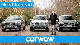 Download BMW X3 vs Audi Q5 vs Volvo XC60 2018 - which is best? | Head-to-Head Video