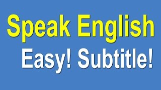 Download Speaking English For Beginners - Speak English Learning Easy Video