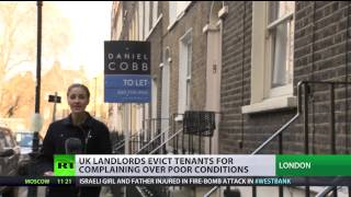 Download UK landlords' 'revenge evictions' on complaining tenants Video