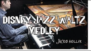 Download Jacob Koller - Disney Jazz Piano Waltz Medley - Alice in Wonderland - Someday My Prince etc Video