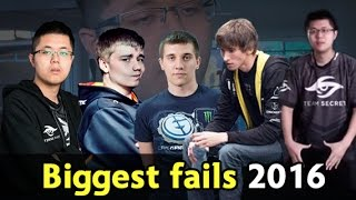 Download Biggest fails of 2016 — Dota 2 Video