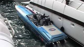 Download CIGARETTE Powerboat - Foxtrot Oscar - Hafen Monaco - Top Gun - Video