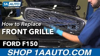Download How to Replace Install Front Grille 97- 98 Ford F150 Video