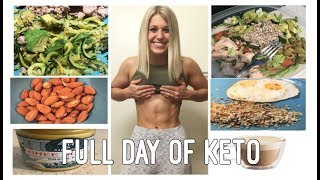 Download FULL DAY OF EATING   KETO DIET Video