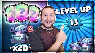 Download OPENING 20x LEGENDARY KINGS CHEST!! MAX LEVEL UNLOCKED!! Clash Royale Chest Opening Video