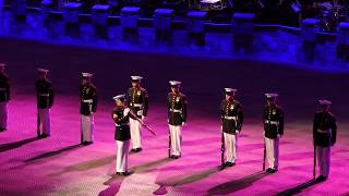 Download Norwegian Military Tattoo - The US Marine Corps Silent Drill Platoon - 2018-04-21 Oslo Video