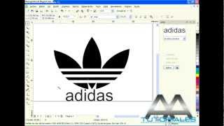 Download COREL DRAW X5 - logo adidas! (HD) Video