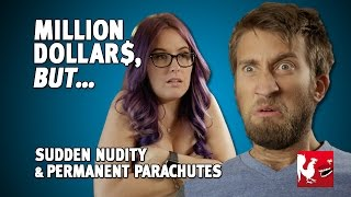 Download Million Dollars, But... Sudden Nudity & Permanent Parachutes   Rooster Teeth Video