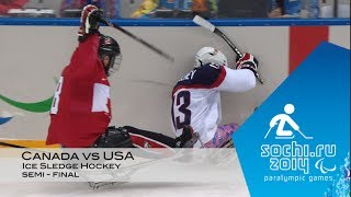 Download Canada vs USA | Semi-final Ice Sledge Hockey | Sochi 2014 Winter Paralympic Games Video