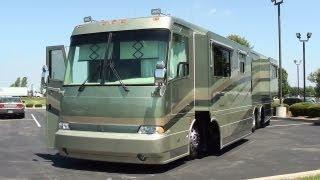Download 2002 Monaco Beaver Marquis 42 Foot Motor Coach 505HP CAT Diesel Dual Slideouts Video