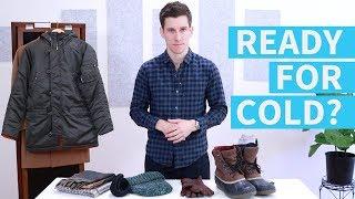 Download 7 Winter Wardrobe Essentials for Men   Men's Winter Fashion Tips Video