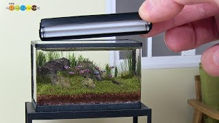 Download DIY Miniature Aquarium Fish Tank ミニチュアアクアリウム水槽作り Video