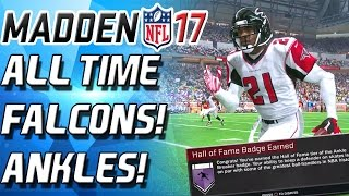 Download HALL OF FAME ANKLE BREAKER! ALL TIME FALCONS! - Madden 17 Ultimate Team Video