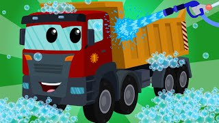 Download Dump Truck | Car Wash | Kids Videos | Learn Transport Video