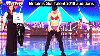 Download Sora from Japan Underwear Magician Auditions Britain's Got Talent 2018 BGT S12E06 Video