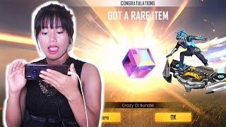 Download I am So Lucky! 💎 NEW Diamond Royale - CRAZY DJ & MAGIC CUBE? - Garena Free Fire Video