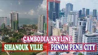 Download Cambodia Skyline, Top Under Construction Skyline in Phnom Penh and Sihanouk Ville Video