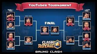 Download TORNEIO DOS YOUTUBERS DE COC NO CLASH ROYALE - Bruno Clash Video