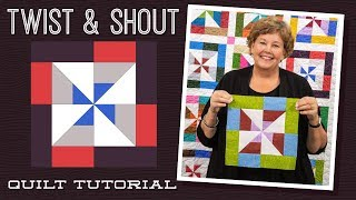 Download Make a ″Twist And Shout″ Quilt with Jenny Doan of Missouri Star (Video Tutorial) Video