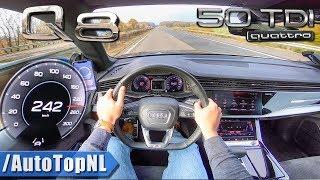 Download AUDI Q8 50 TDI Quattro 242km/h AUTOBAHN POV by AutoTopNL Video