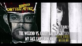 Download The Weeknd vs. Carly Rae Jepsen - My Face Can't Run Away Video