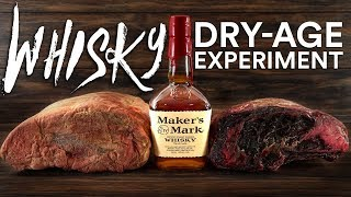 Download WHISKEY Dry Aged STEAKS Experiment! Video