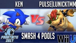 Download Frostbite 2017 SMASH 4 POOLS - KEN (Sonic) vs Pulse | LunickTMM (Bowser) Video