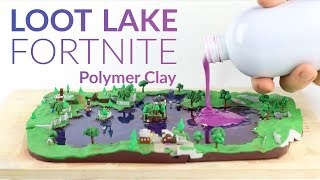 Download Loot Lake & Liquid Soap (Fortnite Battle Royale) – Polymer Clay Tutorial Video