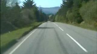 Download Glendaruel to Creggans, Strachur, Argyll. Road Movie. Video