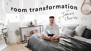 Download Extreme Bedroom Transformation for James Charles // Lone Fox Video