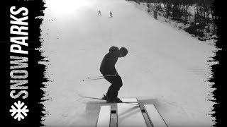 Download Anders Backe in Snow park red Hemsedal Video