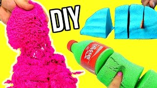 Download DIY KINETIC SAND! Crazy Sand! Video