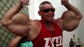 Synthol (Schwarzenegger) 100 cm arms Free Download Video MP4 3GP M4A