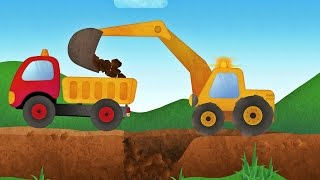 Download Tony the Truck & Construction Vehicles - App for Kids: Diggers, Cranes, Bulldozer Video