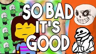 Download Hilarious UNDERTALE Rip Off Merch! So Bad it's GOOD?! #1 UNDERLAB Video