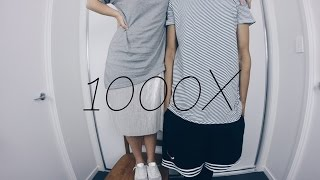 Download 1000X - Jarryd James ft. Broods - Zeek Power cover ft. Kealie Video